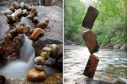 ساخت سازههای سنگی باورنکردنی!+عکس