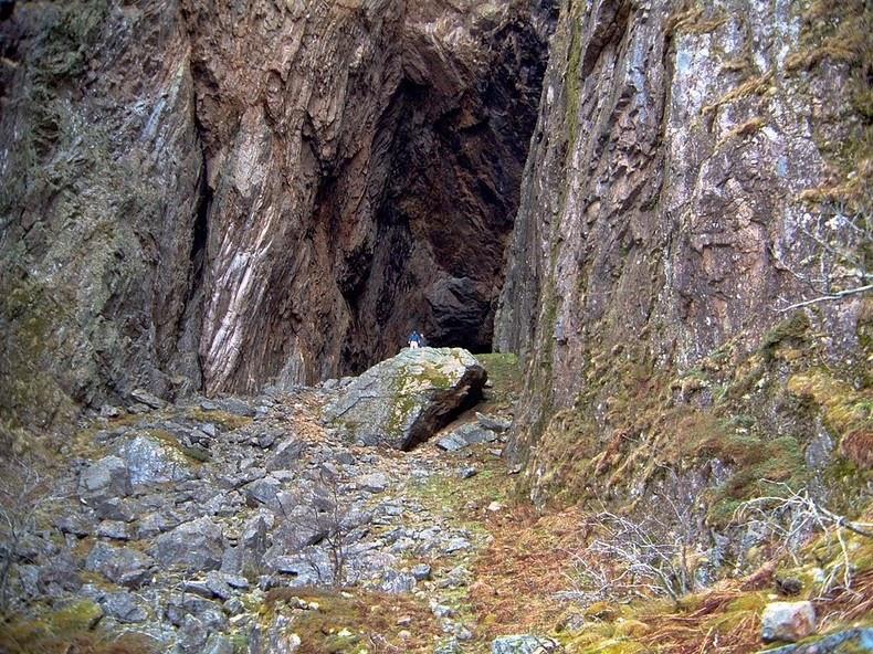 کوه تورگاتن در جزیره تورگت کشور نروژ