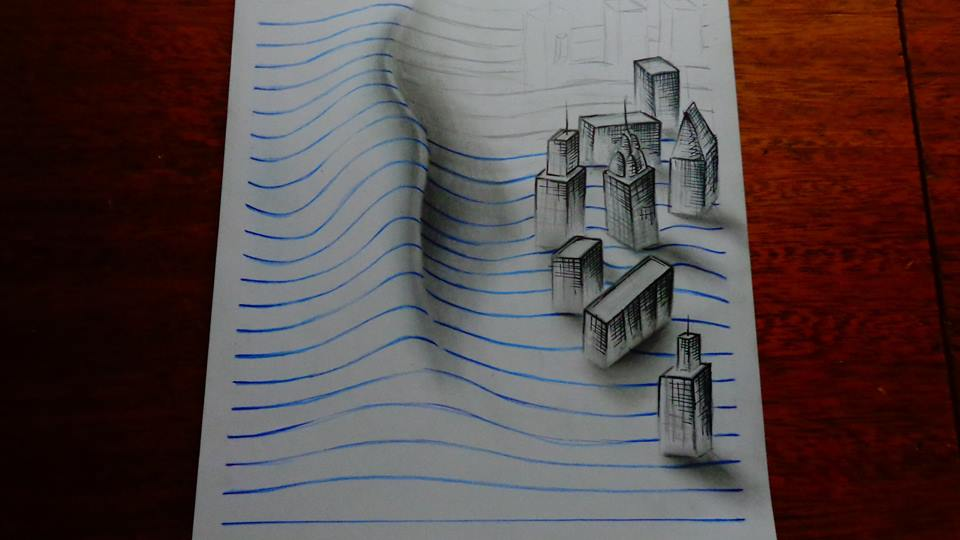عکس نقاشی سه بعدی