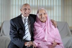 زوجی که ۹۰ سال زندگی مشترک دارند +عکس