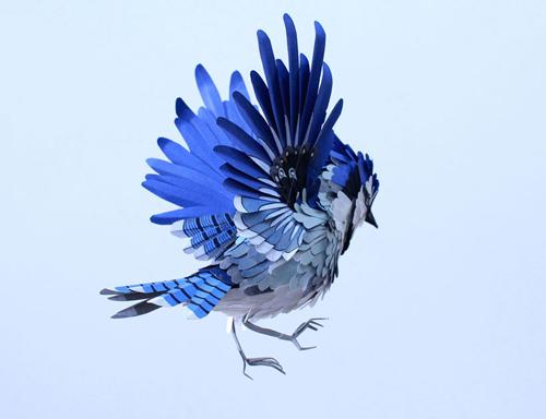 herrera02 تصاویر دیدنی از پرنده های کاغذی