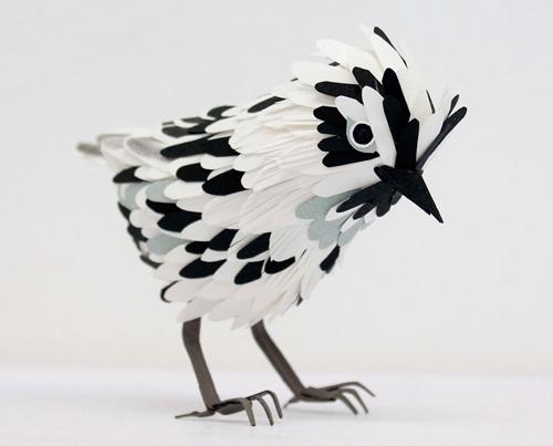 herrera04 تصاویر دیدنی از پرنده های کاغذی