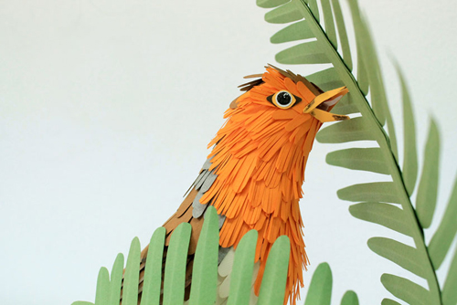herrera07 تصاویر دیدنی از پرنده های کاغذی