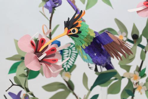 herrera08 تصاویر دیدنی از پرنده های کاغذی