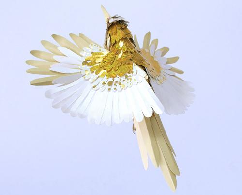 herrera11 تصاویر دیدنی از پرنده های کاغذی