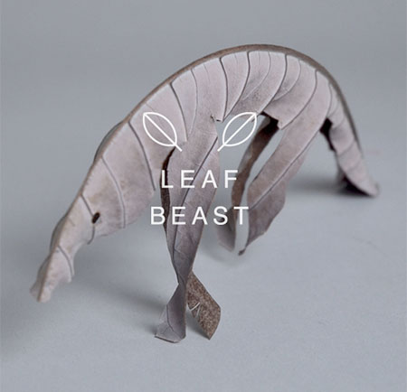 Leaf Beast Sculptures