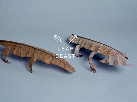 Leaf Beasts by Baku Maeda