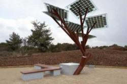 درختی با قابلیت ارائه وایفای و شارژ تلفن+عکس