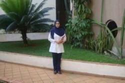 دختر ایرانی دانشجوی نمونه در کوبا شد+عکس