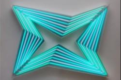 چراغهای نئونی هندسی/عکس