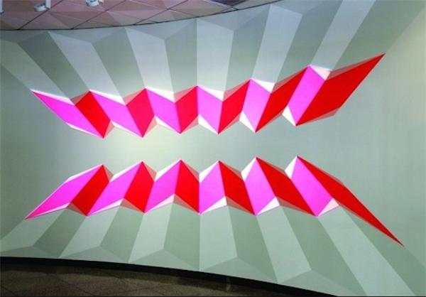 چراغهای نئونی هندسی