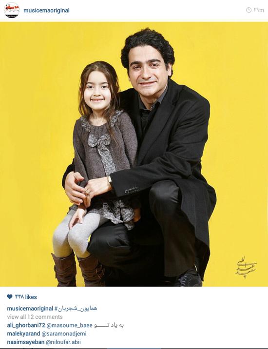 عکس اینستاگرام بازیگران
