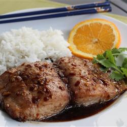 ماهی با طعم زنجبیل