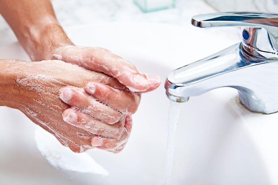 شستن دست ها,تمیز بودن