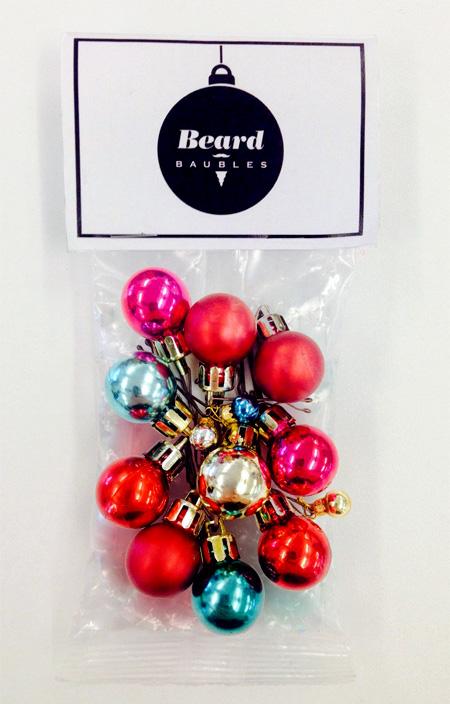 مدل ریش درخت کریسمس Beard Baubles