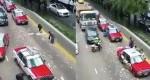 بارانی از اسکناس در بزرگراه! + عکس
