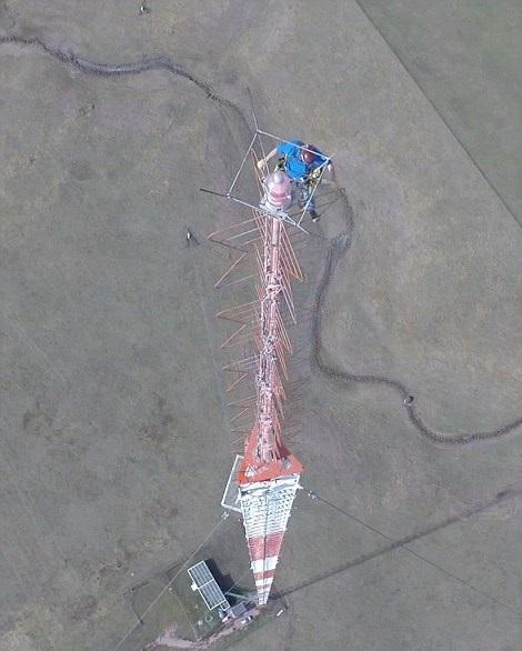 گرفتن سلفی از ارتفاع 500 متری