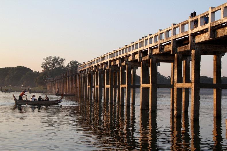 پل چوبی اوبین