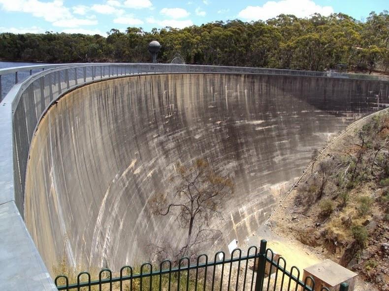 سد بوروسا شاهکار مهندسی سد در استرالیا