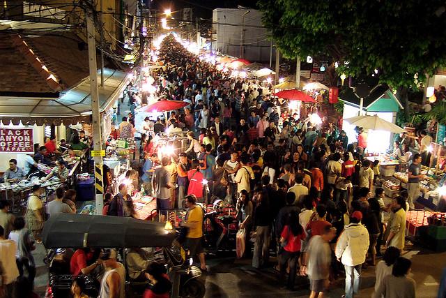 گردشگری تایلند Chiang Mai Night Bazaar