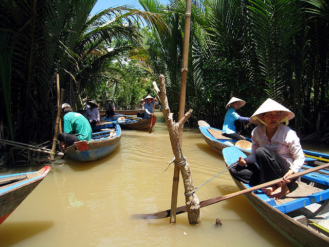 Mekong Delta دلتای مکونگ