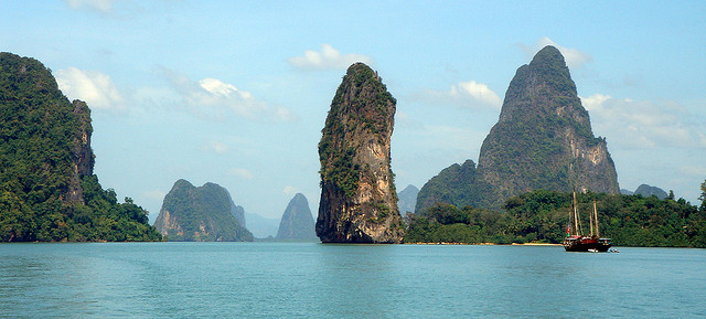 گردشگری تایلند Phang Nga Bay