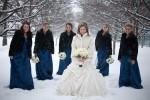 لباس عروسی در زمستان