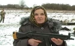 جنگاورترین مادربزرگ دنیا +عکس