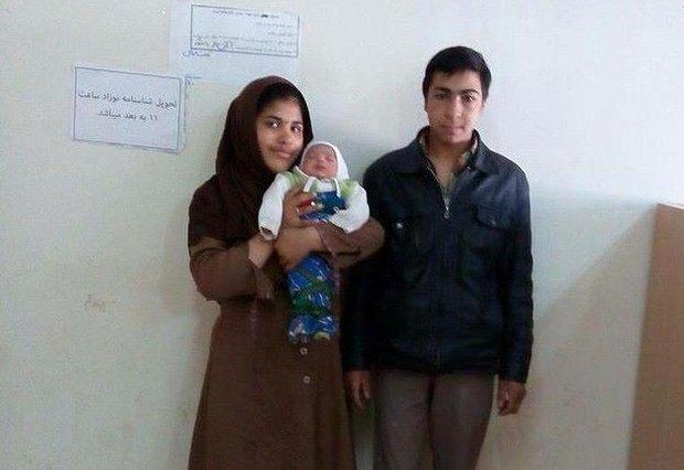 عکس جوان ترین پدر و مادرهای متولد دهه ۸۰ ایرانی