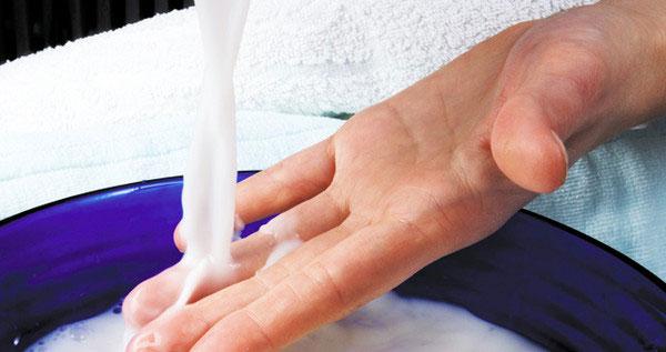 خواص حمام شیر طبیعی برای بدن