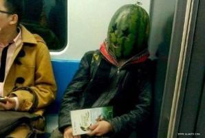 کله هندوانهای watermelon-head