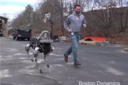 اسپات؛ رباتی با قدرت حفظ تعادل + عکس