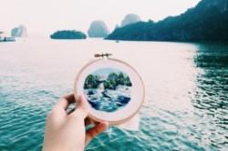 هنرنمایی زن سنگاپوری در گلدوزی+عکس