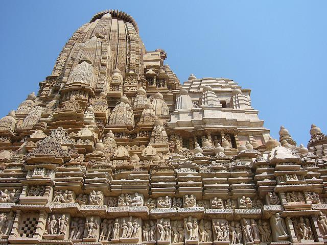 معابد هند Khajuraho Jain Temples