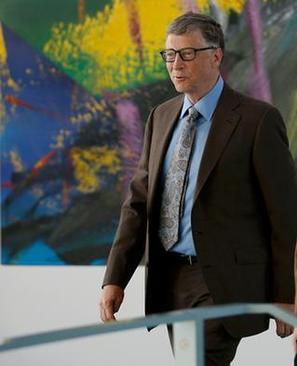 بیل گیتس وقتی در سال دوم رشته ریاضیات در دانشگاه هاروارد با کامپیوتر