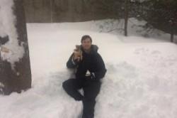 درآمدزایی از برف پشت بام +عکس