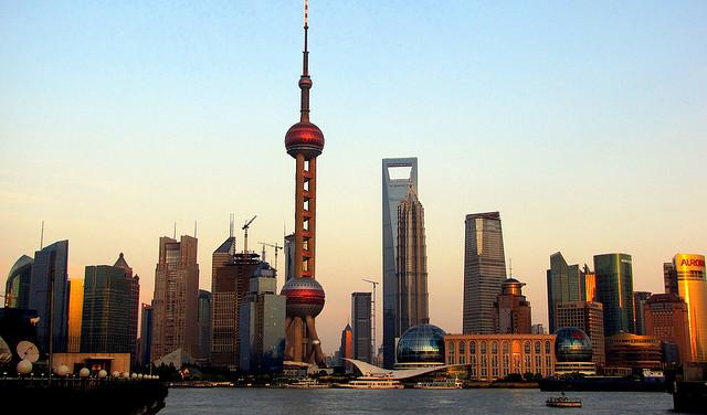 پودانگ Pudong Skyline