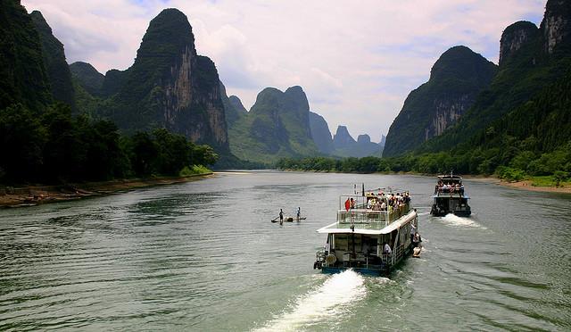 رودخانه لی کروز Li River Cruise