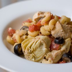 طرز تهیه پاستای مرغ یونانی