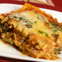 Simple-Spinach-Lasagna