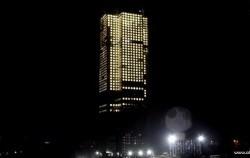 ساخت سریعترین برج جهان در ۱۹ روز+عکس