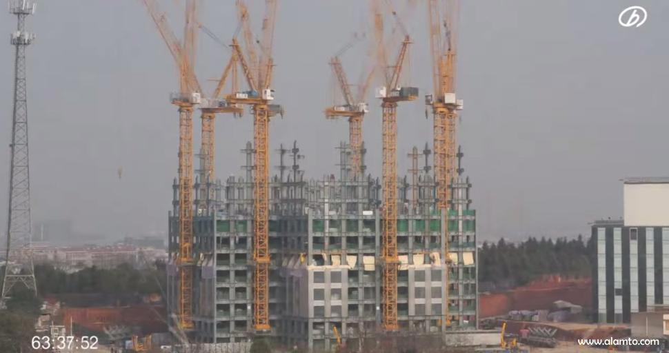 ساختمان سازی Sky-City-China