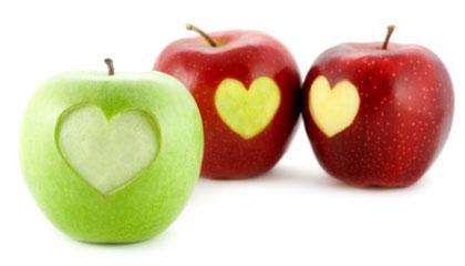 سیب و سلامت قلبی عروقی
