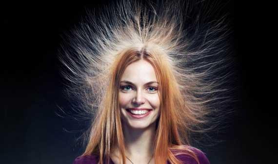 الکتریسیته ساکن مو