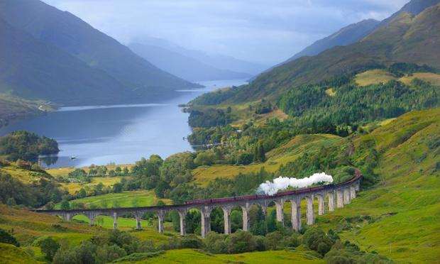 جادهای به سمت جزیرهها، اسکاتلند