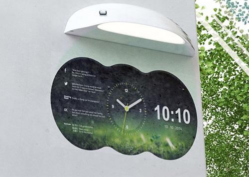 ساعت دیواری هوشمند
