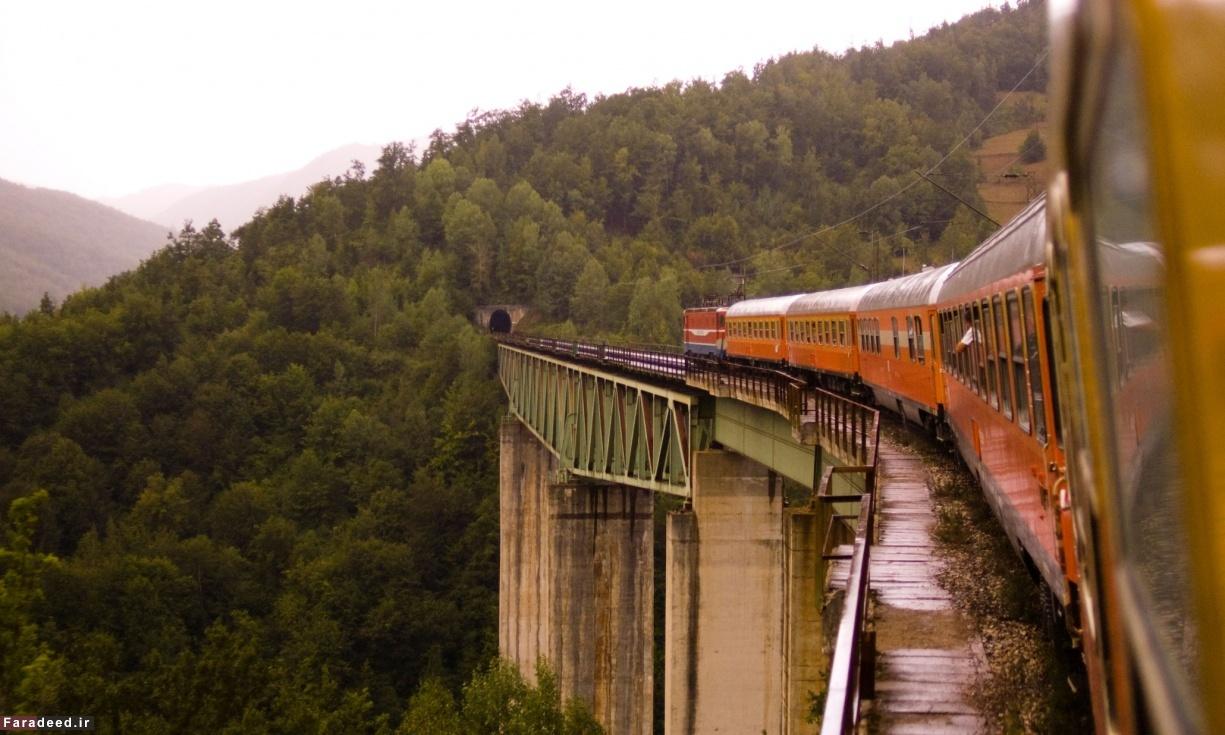 ده سفر رویایی با قطار