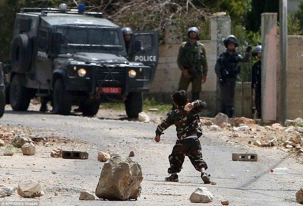 پسر بچه ۵ ساله فلسطینی