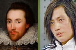 تغییر چهره به ویلیام شکسپیر+عکس