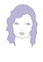 بهترین مدل موی فرق بر اساس فرم صورت